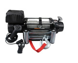 12,000lbs Steel Cable Winch with both wired and wireless remote control