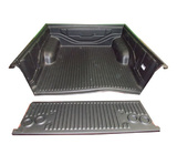 Toyota Hilux J Deck SR Dual Cab August 2005 to September 2015 Without Sports Bar, Over Rail Ute Liner (W/Hooks) - SA and Qld Only