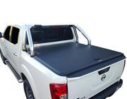 Nissan Navara NP300 Dual Cab July 2015 to Current, Sports Bar Black Tuff Ute Hard Lid Cover