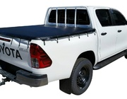 Toyota Hilux Dual Cab J Deck Oct 2015 to Current Without Sports Bar, Bunji Ute Tonneau Cover