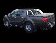 Mitsubishi Triton MN  Dual Cab October 2009 to June 2015 Without Headboard, Sports Bar Bunji Ute Tonneau Cover