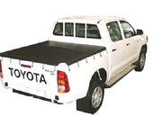Toyota Hilux A Deck SR Dual Cab April 2005 to July 2005 Without Sports Bars & Headboard, Bunji Ute Tonneau Cover
