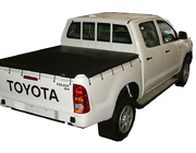 Toyota Hilux J Deck SR Dual Cab April 2005 to September 2015 Without Sports Bar, Bunji Ute Tonneau Cover (Hooks)