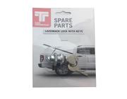 Lazerback Lock and 2 Keys, Hard Lid Spare Parts