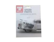 Tonneau Button Replacement Pins Pack Of Twenty, Hard Lid Spare Parts